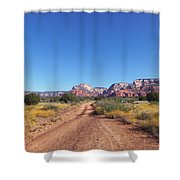 Jeep Trail Shower Curtain