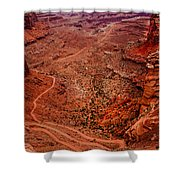 Jeep Trails Shower Curtain