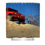 Jeepin' The Mojave Shower Curtain