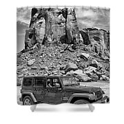 Jeep...it's A State Of Mind Shower Curtain