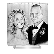 Jeff And Anna Shower Curtain