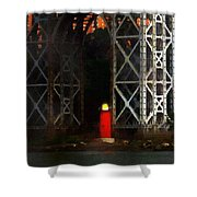 Jeff And George Shower Curtain