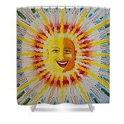 Jeffer Sun Shower Curtain