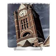 Jefferson County Courthouse Clock Tower Shower Curtain