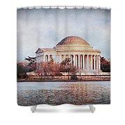 Jefferson Memorial In Dc Shower Curtain