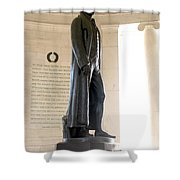 Jefferson Memorial In Washington Dc Shower Curtain