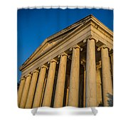 Jefferson Memorial Oblique Shower Curtain