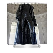 Jefferson Memorial2 Shower Curtain