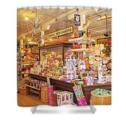 Jefferson Texas General Store Shower Curtain