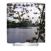 Jefferson Through The Trees Shower Curtain