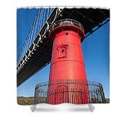 Jeffrey's Hook Lighthouse I Shower Curtain