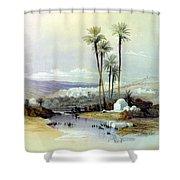 Jenin Ancient Jezreel 1839 Shower Curtain