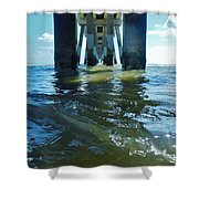 Jennettes Pier Nags Head 3 5/22 Shower Curtain