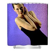 Jennifer Formal Lbd Shower Curtain
