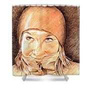 Jenny 2 Shower Curtain