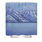 Jenny Lake - Grand Tetons Shower Curtain