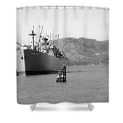 Jeremiah Obrien Shower Curtain
