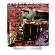 Jerome Mine Collage Shower Curtain