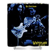 Jerry And Billy At Winterland Shower Curtain