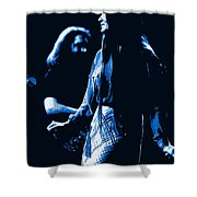 Jerry And Donna Blues 1978 Shower Curtain