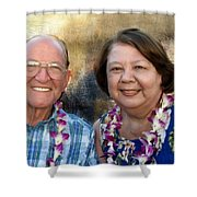 Jerry And Lorene Shower Curtain