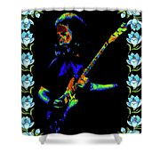 Jerry And The Flowers 2 Shower Curtain