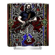 Jerry Card Shower Curtain