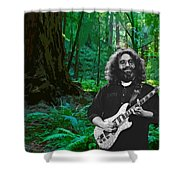 J G In Muir Woods Shower Curtain