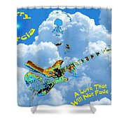 Jerry In The Sky With Love Shower Curtain