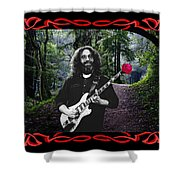 Jerry Road Rose 2 Shower Curtain