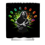 Jerry Spacepods 1 Shower Curtain