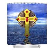 Jerrys Cross 20 Shower Curtain
