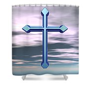 Jerrys Cross  Shower Curtain