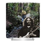 Jerry's Mountain Music 13 Shower Curtain