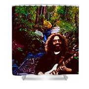 Jerry's Mountain Music 3 Shower Curtain