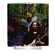 Jerry's Mountain Music 7 Shower Curtain
