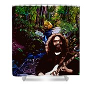 Jerry's Mountain Music 8 Shower Curtain