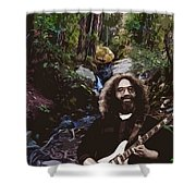 Jerry's Mountain Music 9 Shower Curtain