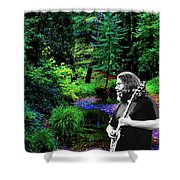 Jerry's Sunshine Daydream Shower Curtain