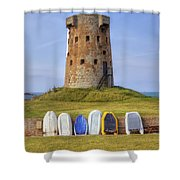 Jersey - Le Hocq Shower Curtain