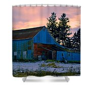 Jersey Avenue Metal Shower Curtain