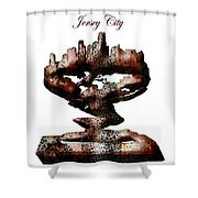 Jersey City  Shower Curtain