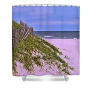 Jersey Shore 11 Shower Curtain