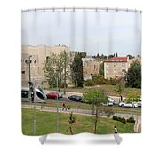 Jerusalem Near New Gate Shower Curtain