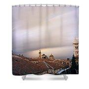 Ethereal Jerusalem Shower Curtain