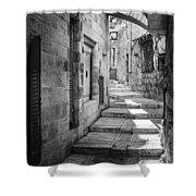 Jerusalem Street Shower Curtain