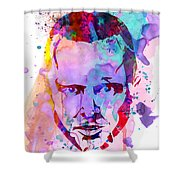 Jesse Breaking Bad Watercolor Shower Curtain