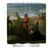 Jessies Dream , 1858 Shower Curtain