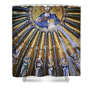 Jesus And His Peeps Shower Curtain