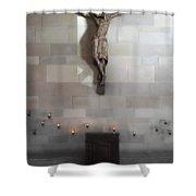 Jesus Chapel Icon - San Francisco Shower Curtain